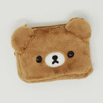2016 Chairoikoguma Plush Pass Case Pouch - Rilakkuma