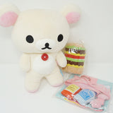 2012 Korilakkuma Lawson Limited Posing Plush Set (no Kiiroitori)