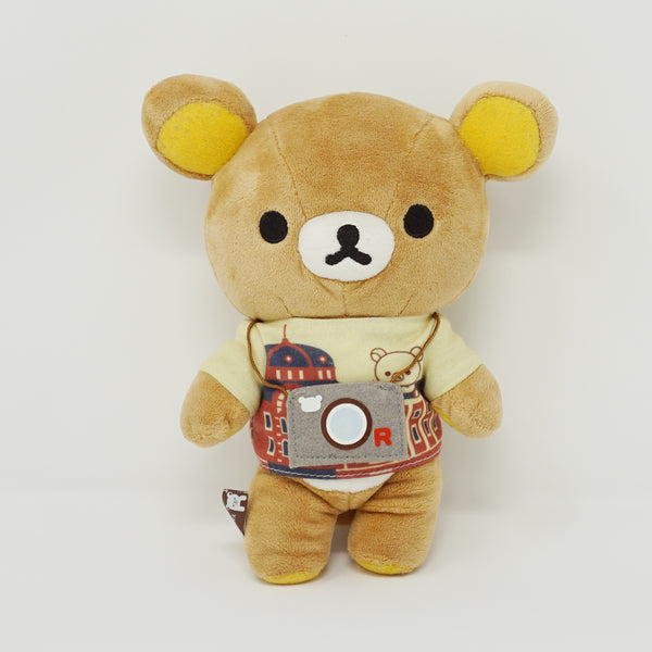2014 Tokyo Station Rilakkuma with Camera Tee Plush - Souvenir Theme (No Tag)