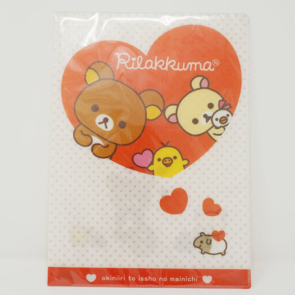 Single File Folder - Heart Rilakkuma Theme