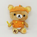 2008 Orange Rilakkuma Plush - Fruits Series Rilakkuma