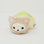 2015 Korilakkuma Cat in Melon Pan Plush - Lawson Limited Relaxing Cat Theme Rilakkuma
