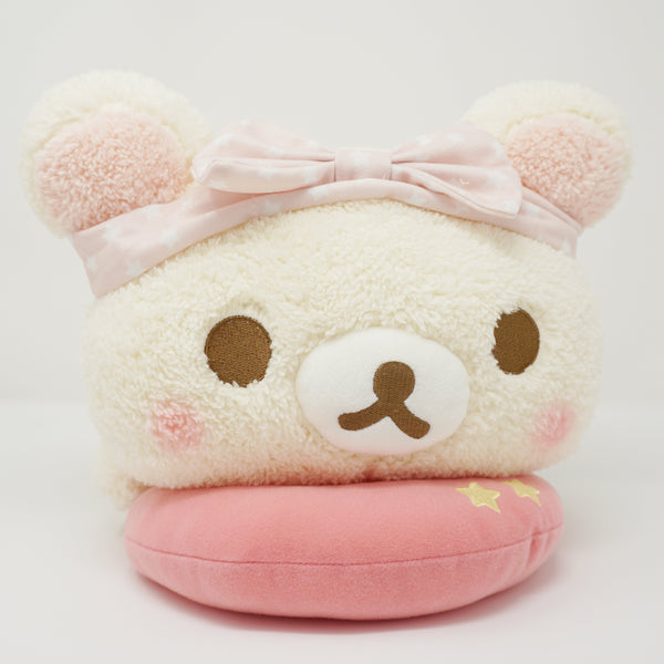 Pastel Korilakkuma Lying Down XL Plush - Rilakkuma Pajama Party