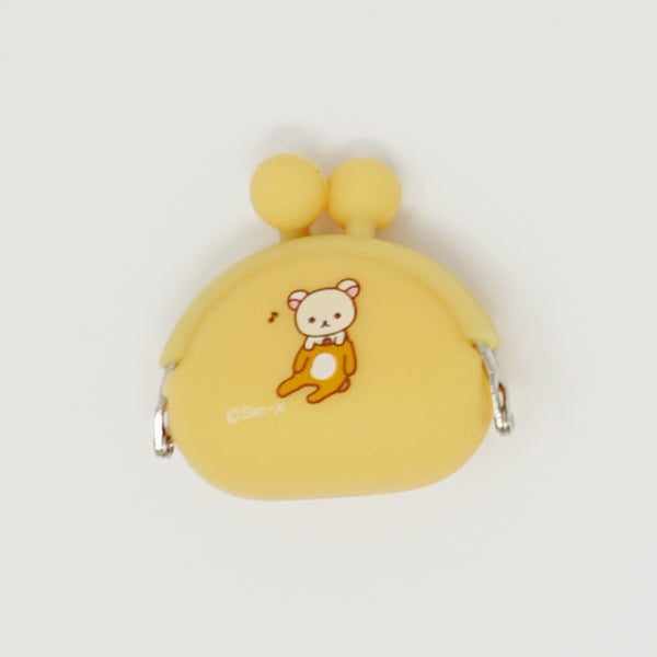 Orange Mini Silicon Pouch - Rilakkuma Prize Goods