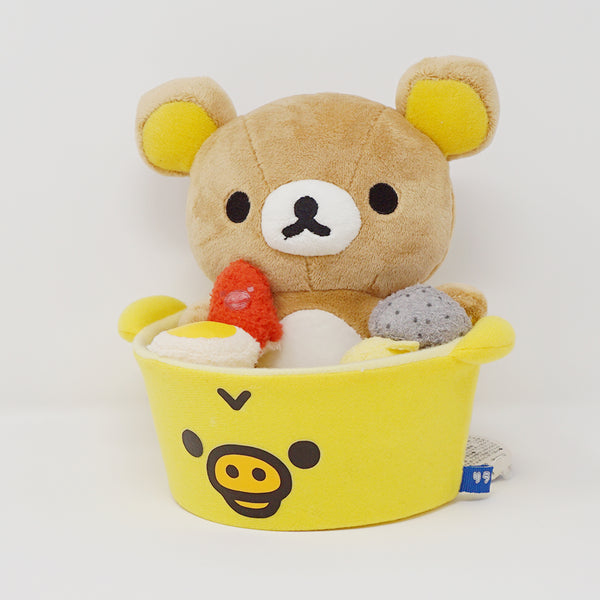 2013 Oden Kiiroitori Bowl Rilakkuma Plush Set (Lawson Limited)