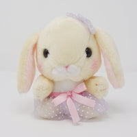 "Lavendar Skirt ""Hiyoppi"" Pote Usa Loppy Plush - Amuse"