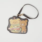 Keychain Strap and Card Case - Rilakkuma Deli