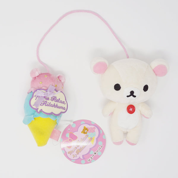 Korilakkuma Shoe Keeper Plush - Ice Cream Rilakkuma