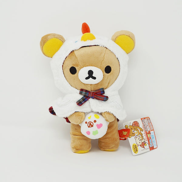2012 Chicken Poncho Rilakkuma with Egg Plush - Caravan Limited Rilakkuma