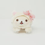 2019 Korilakkuma White Lying Cat Plush  - In the Mirror Korilakkuma Theme - Rilakkuma