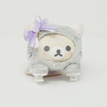 2019 Korilakkuma Gray Lying Cat Plush  - In the Mirror Korilakkuma Theme - Rilakkuma