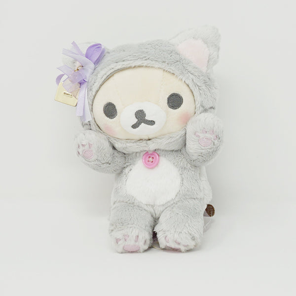 2019 Gray Cat Korilakkuma Plush - In the Mirror Korilakkuma Theme - Rilakkuma