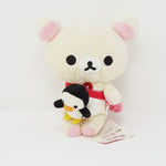 2007 Korilakkuma with Strawberry Bag Plush - Mischevious Korilakkuma Theme - Rilakkuma