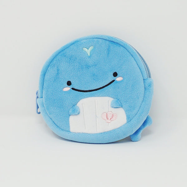 2018 Lost Baby Whale Coin Case Pouch - Jibensan Face Theme