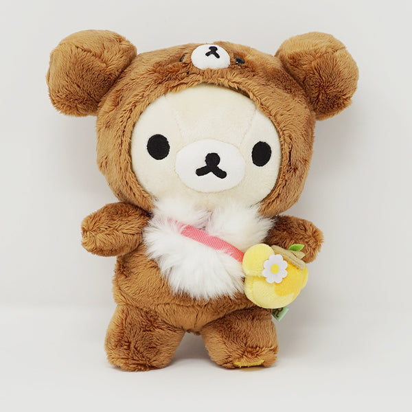 2016 Korilakkuma in Chairoikoguma Outfit Plush - Korilakkuma's New Friend Theme - Rilakkuma