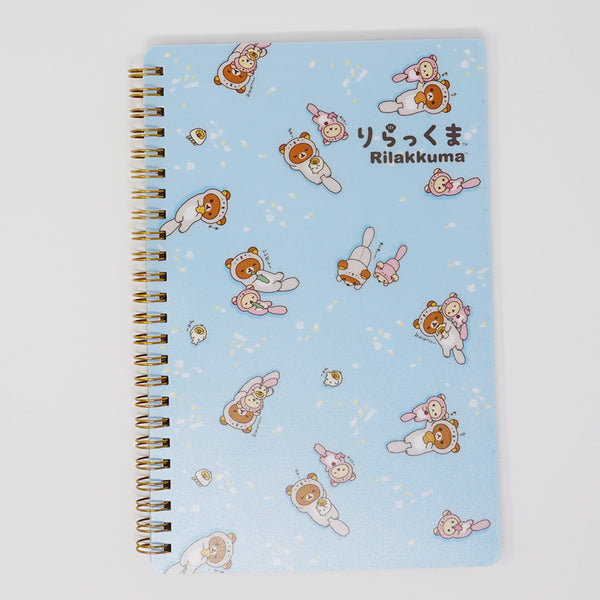 Ring Bound Notebook  - Rilakkuma Otter Theme