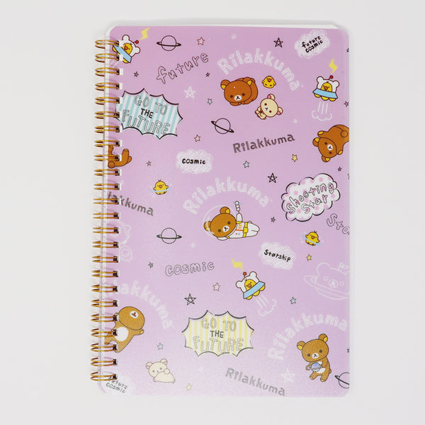 Ring Bound Notebook  - Rilakkuma Space Theme