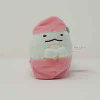 Peach Tokage Prize Plush Keychain - Sumikkogurashi Fruits Design