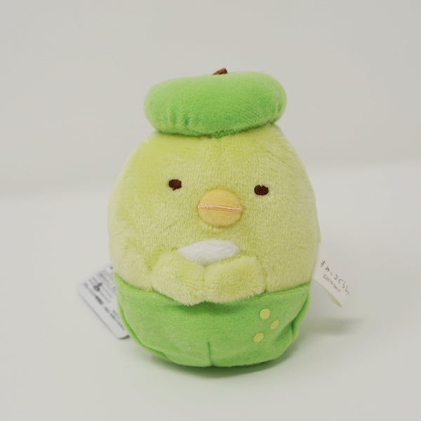 Melon Penguin? Prize Plush Keychain - Sumikkogurashi Fruits Design
