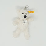 Lotte White Teddy Bear Keychain Plush - Steiff