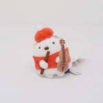 2019 Shirokuma Santa with Violin Tenori Plush - Christmas Sumikkogurashi