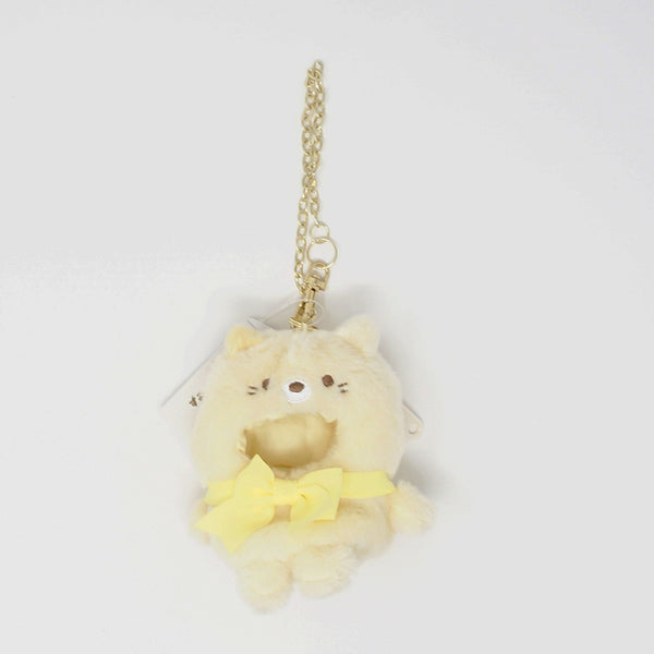 2019 Neko Kigurumi Outfit for Tenori Plush Plush Keychain - Sumikkogurashi Collection