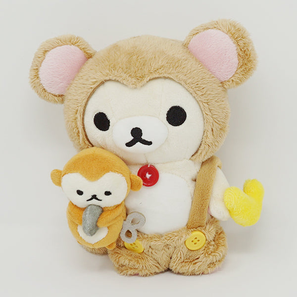 2015 Korilakkuma in Monkey Costume Plush - 2016 Year of the Monkey Rilakkuma
