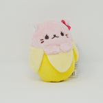Pink  - Bananya Plush - Banana Cat