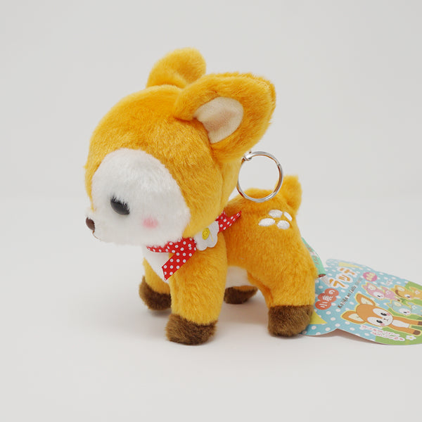 Amuse Latte Deer Plush Keychain