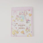 Bananya Fruity Friends Mini Memo Pad - Qlia