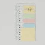 Clear Cover Spiral Sticky Note Set  - Daiso