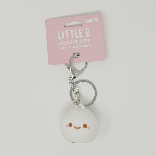 Little B Dumpling Light-Up Keychain  - SMOKO