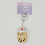 Pearl Boba Tea Light-Up Keychain  - SMOKO