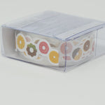 Donut Paper Ribbon Sticker Tape  - Daiso