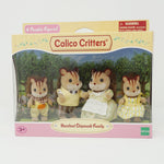 Hazelnut Chipmunk Family  - Calico Critters