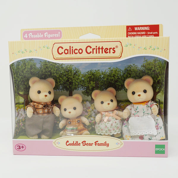 Cuddle Bear Family  - Calico Critters