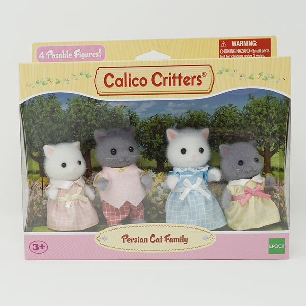 Persian Cat Family  - Calico Critters