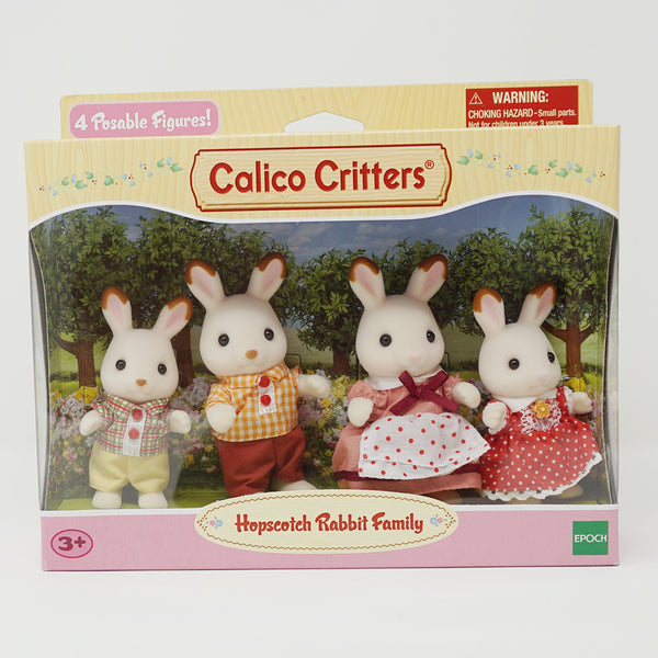Hopscotch Rabbit Family  - Calico Critters