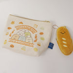 Zipper Pouch Set - Sumikko Bakery Class Theme