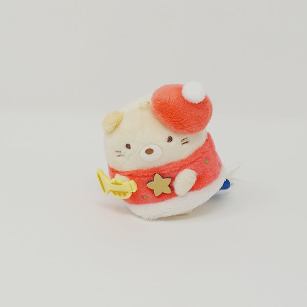 2019 Neko with Trumpet Plush - Christmas Sumikkogurashi