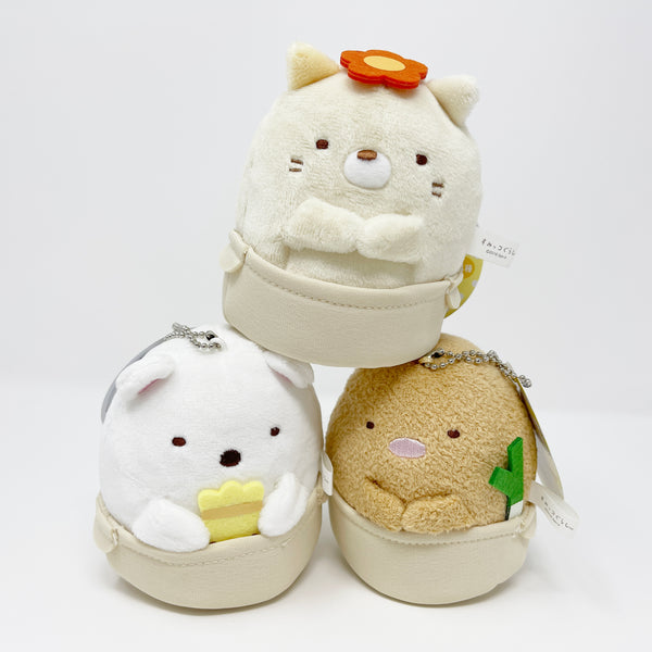 SET DEAL Nabe Hot Pot Plush Set - Neko, Shirokuma, Tonkatsu - Sumikkogurashi San-X