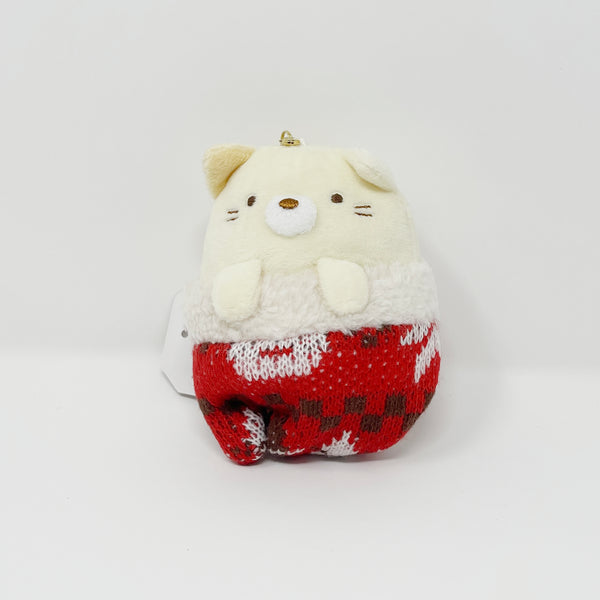 Neko Knit Glove Plush Keychain - Knit Sumikkogurashi Winter