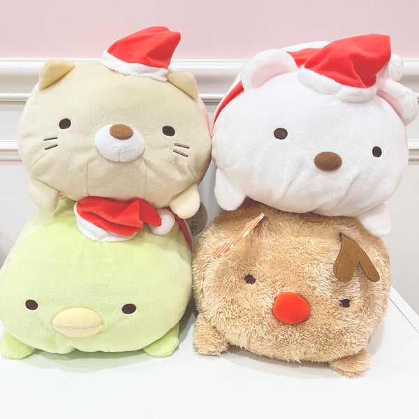 SET DEAL Santa Sumikko Big Plush - Sumikkogurashi Christmas