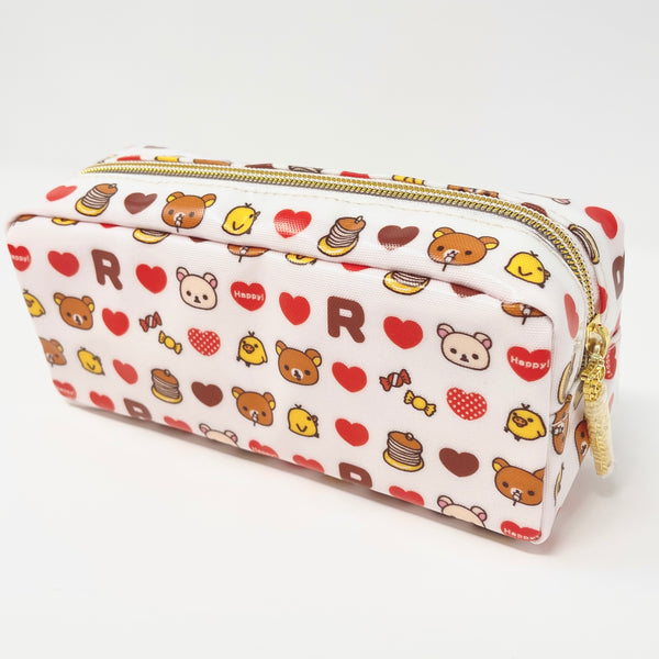 Rilakkuma I Love Pancakes Zipper Pouch - Everyday with Your Favorites Rilakkuma Theme