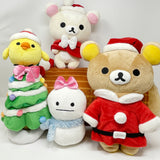 2011 Rilakkuma Yule Log Plush Set - Christmas Rilakkuma Store Limited