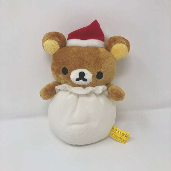 2006 Rilakkuma Christmas Theme Plush Santa's Bag (No Tag) Prize Toy