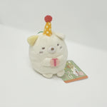 2014 Neko with Gift & Hat Plush - Sumikkogurashi Christmas