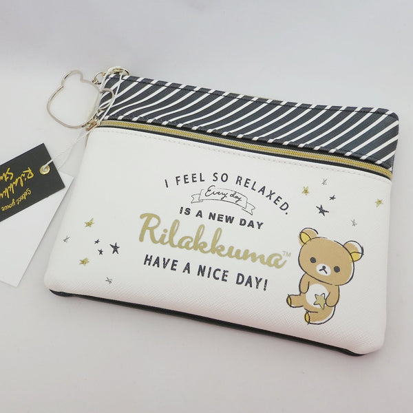 Black and White Pouch - Rilakkuma Style Theme