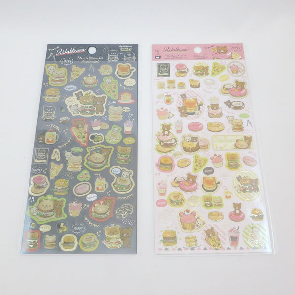 Sticker Sheet - Rilakkuma Deli Theme