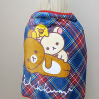 Rilakkuma Plaid Blanket